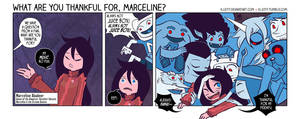 What are you thankful for, Marceline?