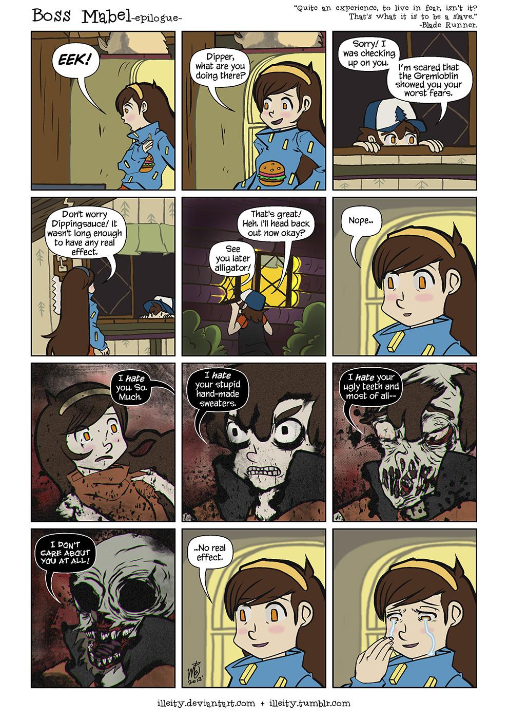 Boss Mabel -epilogue- by illeity