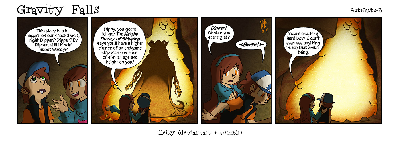 Gravity Falls: Artifacts 5 by illeity