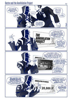 Doctor and the Annihilation Project