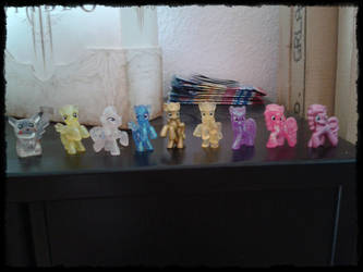All blindbags together 3 - Mane 6 by Koyolein