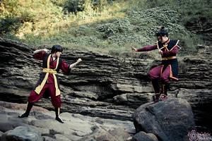 Epic battle by CelticSakura