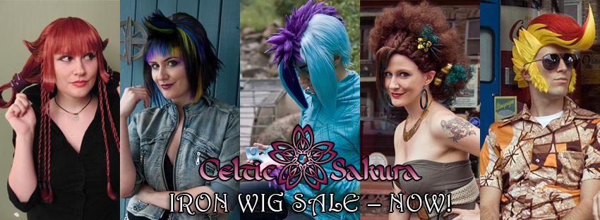 Iron wig sale by CelticSakura
