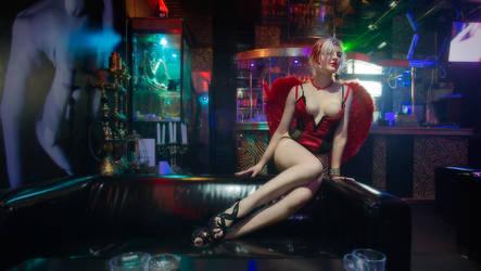 In a strip-club by downsign