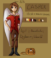 Casper Reference Sheet by Xelgadice