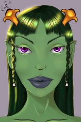 Speedpaint: River Goddess by Cupric