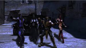 MK - Smoke unites Enemies