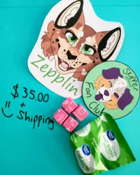 Mailed Badge Package Commission OPEN by Coopercreations