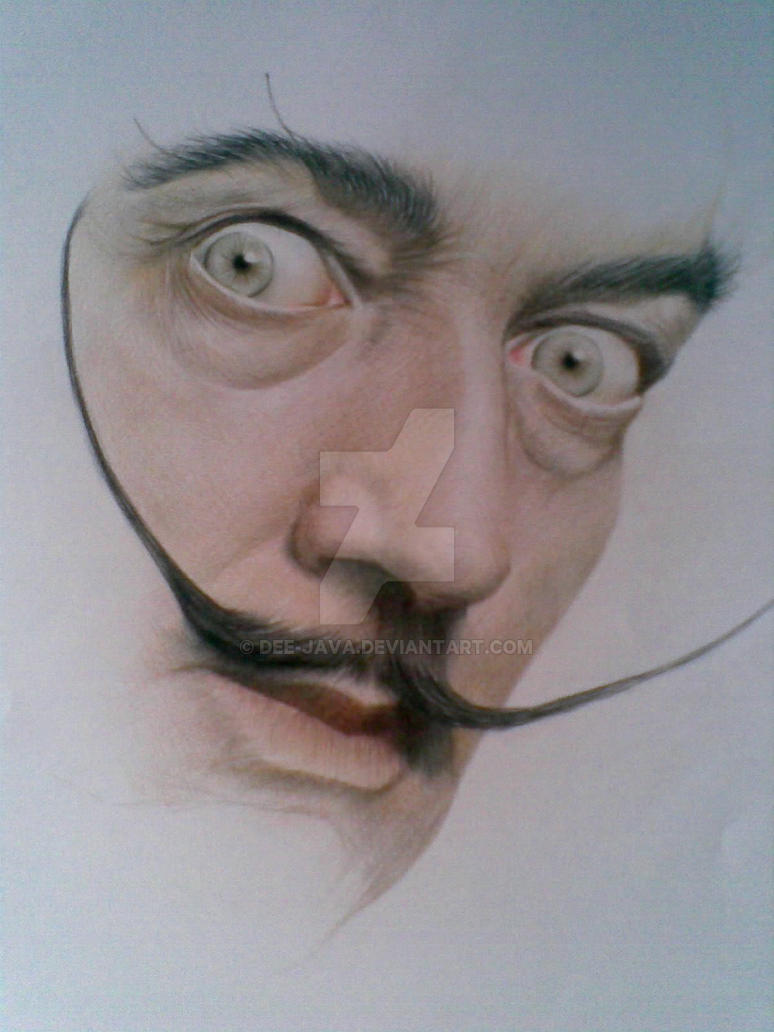 Dali WIP by Dee-java