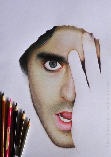 Jared LETO in progress.2 by Dee-java