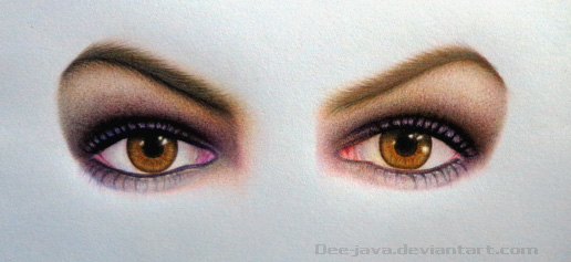 Anne eyes (work in progress) by Dee-java