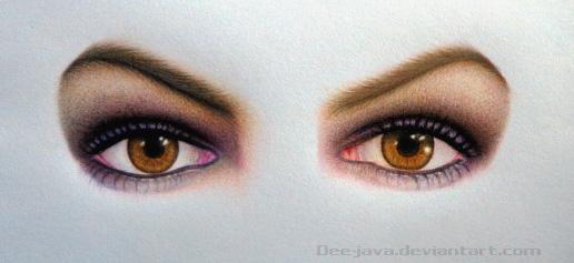 Anne eyes (work in progress) by Dee-java