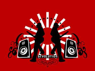 Revolution Wallpaper by El-Jackal