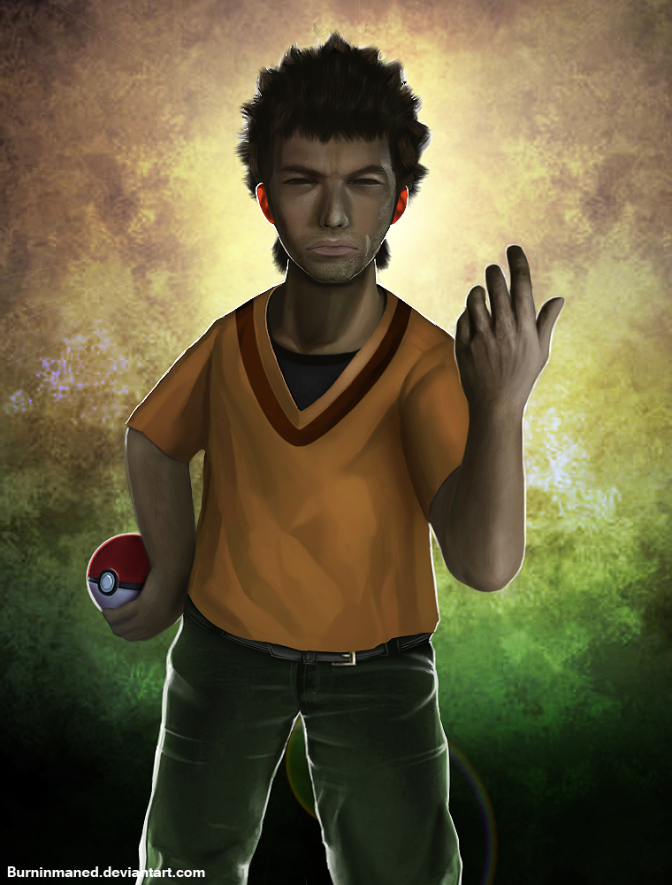 Brock by Burninmaned