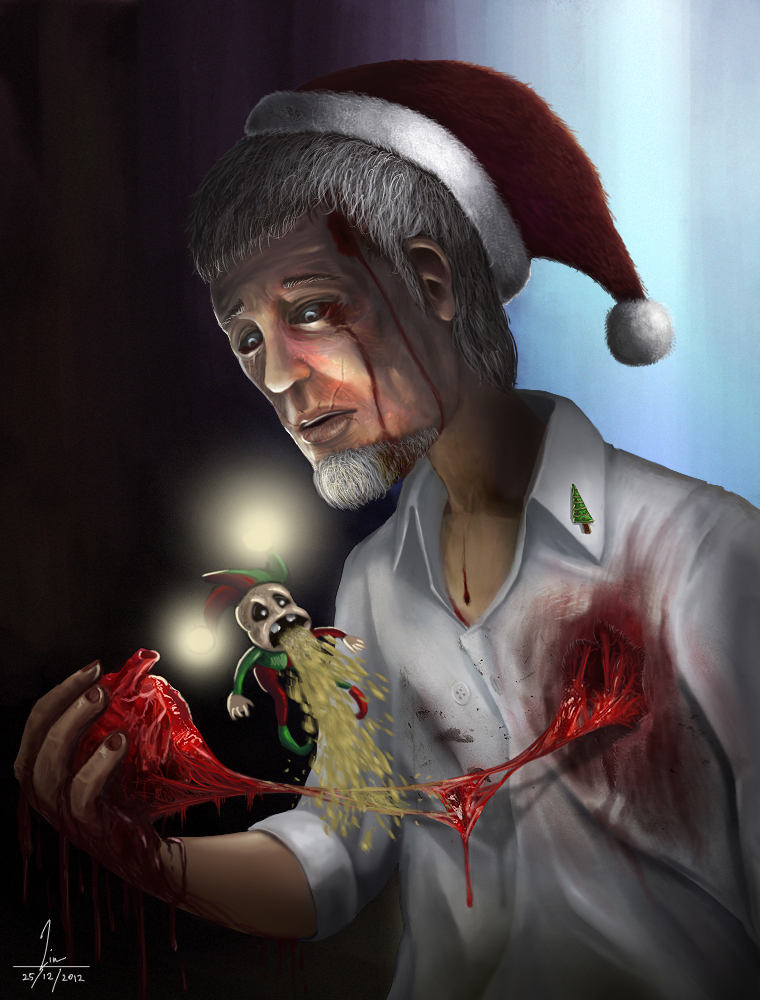 Last Christmas I gave you my heart by Burninmaned on DeviantArt