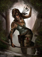 Tomb Raider Reborn contest by Burninmaned