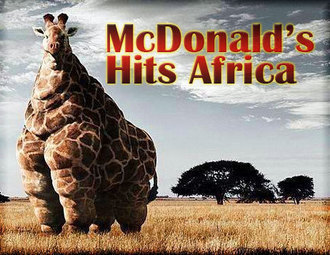 McDonalds hits Africa....... by Stephey