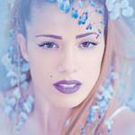 Blue Blossom I