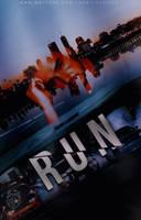 Run |  Wattpad Cover by LoeBiebs