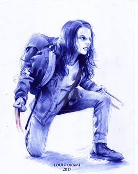 Laura Kinney ( Dafne Keen) - Logan Movie
