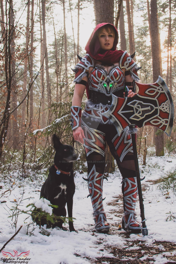 sc 1 st  DeviantArt & Warrior Red Riding Hood and the Big Bad Wolf? by Celestial-Innocence ...