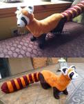 Pabu the Fire Ferret Plushies!
