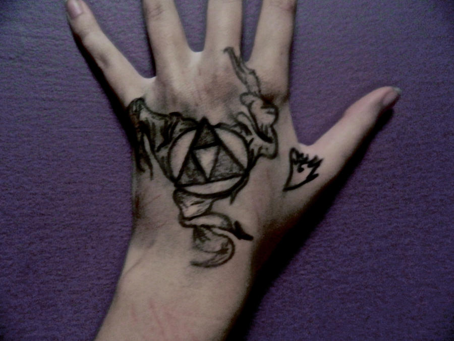 Zelda Triforce Tattoo Clip Art