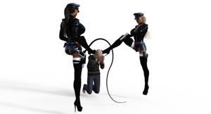 femdom police 2 by marco041