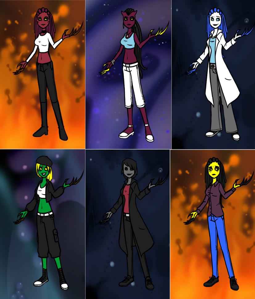 Virus Ladies by LanaZaire