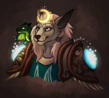 Worgen Druid by RenuFur