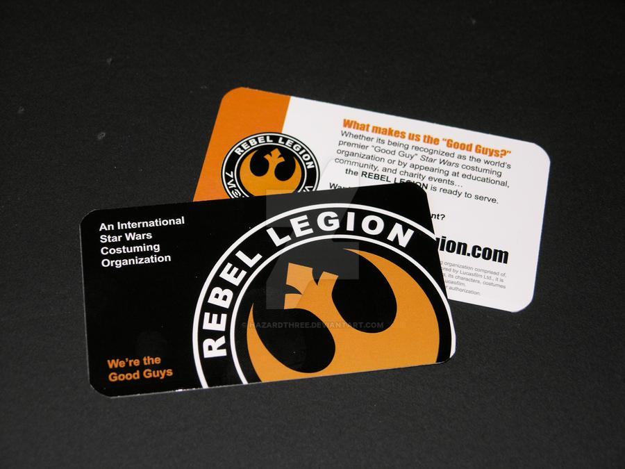 Business Card Design - the Rebel Legion by HazardThree on DeviantArt