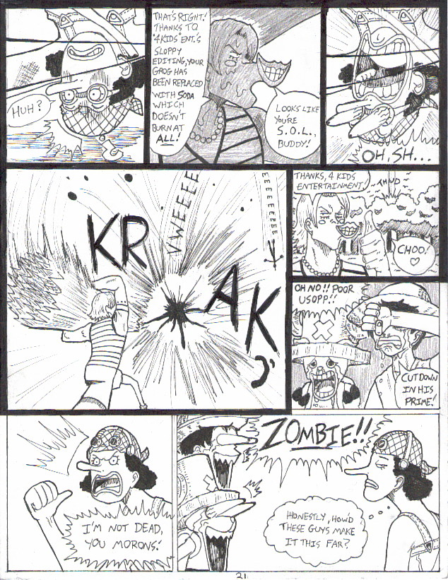 OPD pg21: The Fall of Usopp by GarthTheUndying