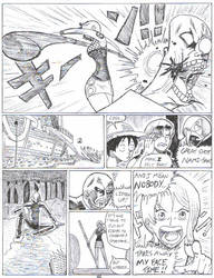 OPD pg46: Nami Hits Stuff by Garth2The2ndPower