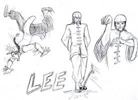 Street Fighter One: Lee by Garth2The2ndPower