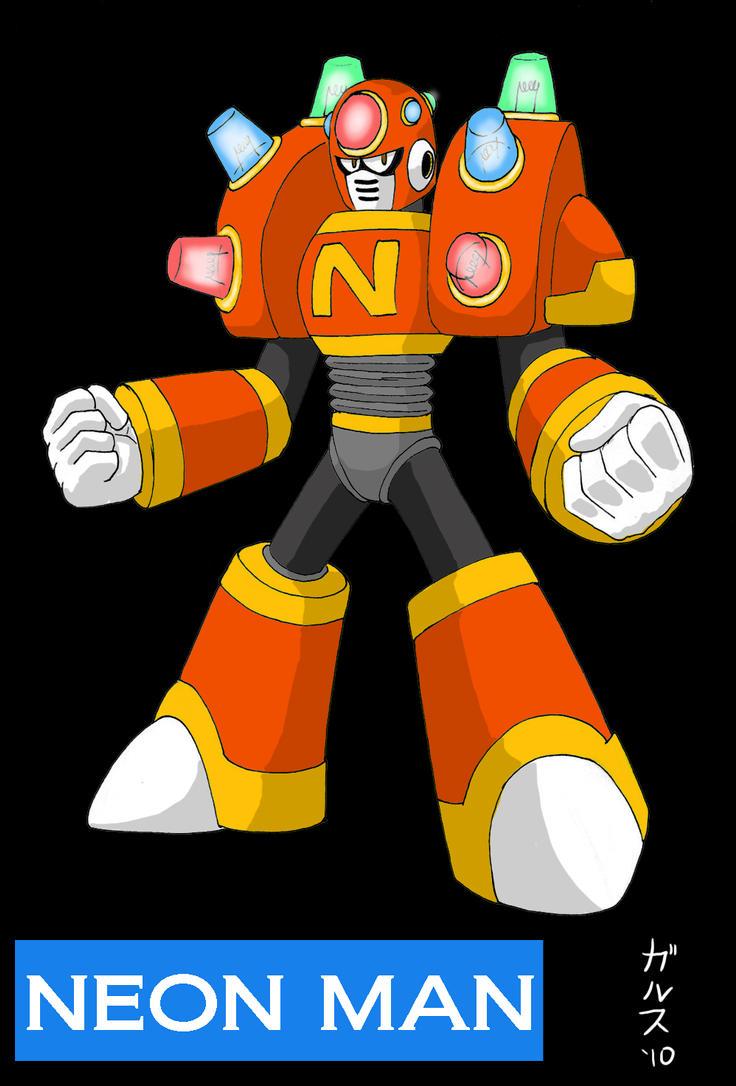 Dwn No.104: Neon Man by Garth2The2ndPower