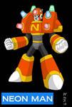 Dwn No.104: Neon Man