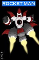 Dwn No.115: Rocket Man by Garth2The2ndPower