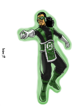 Green Lantern Usopp