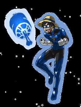 Blue Lantern Luffy