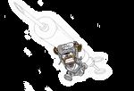 White Lantern Chopper