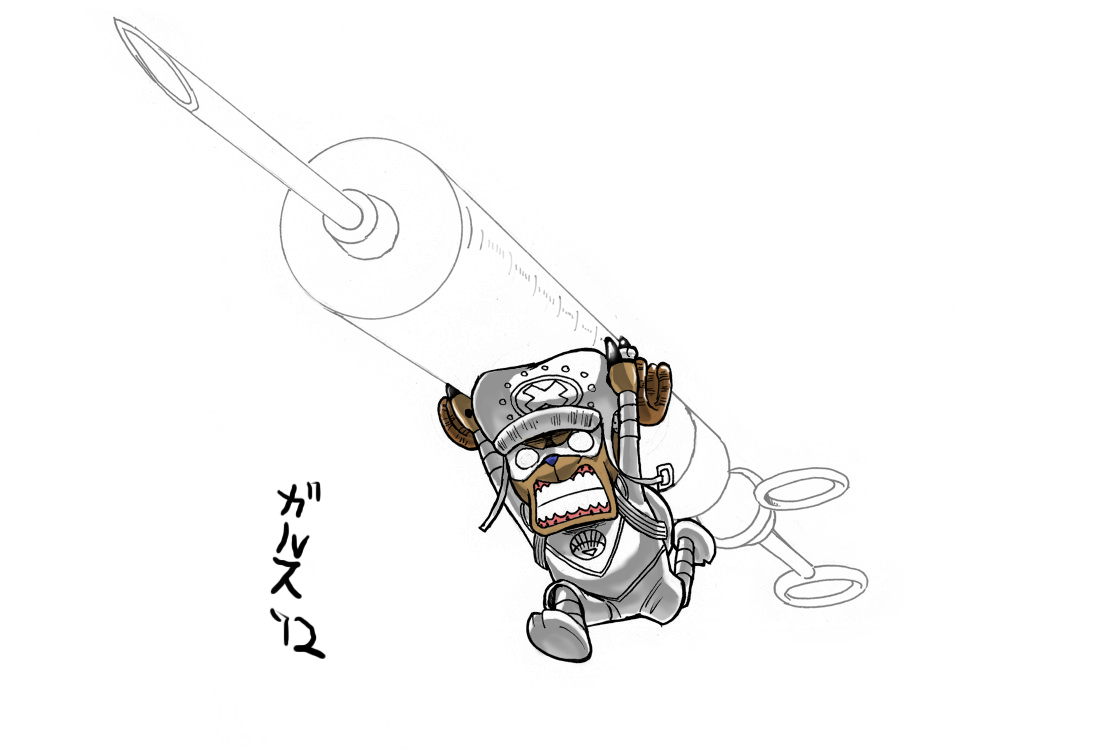 White Lantern Chopper by GarthTheDestroyer