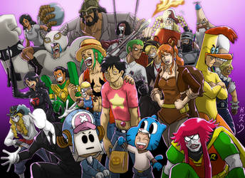 One Piece Halloween: FINAL by Garth2The2ndPower