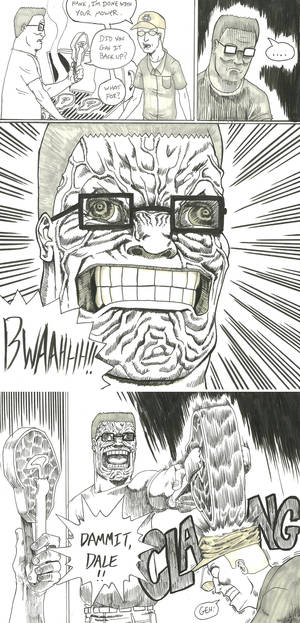 Hank Goes Berserk