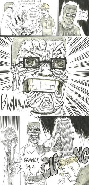 Hank Goes Berserk