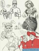 Garth's Random Sketches- Beta by Garth2The2ndPower