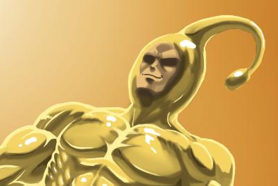 Gold Sperm by Garth2The2ndPower