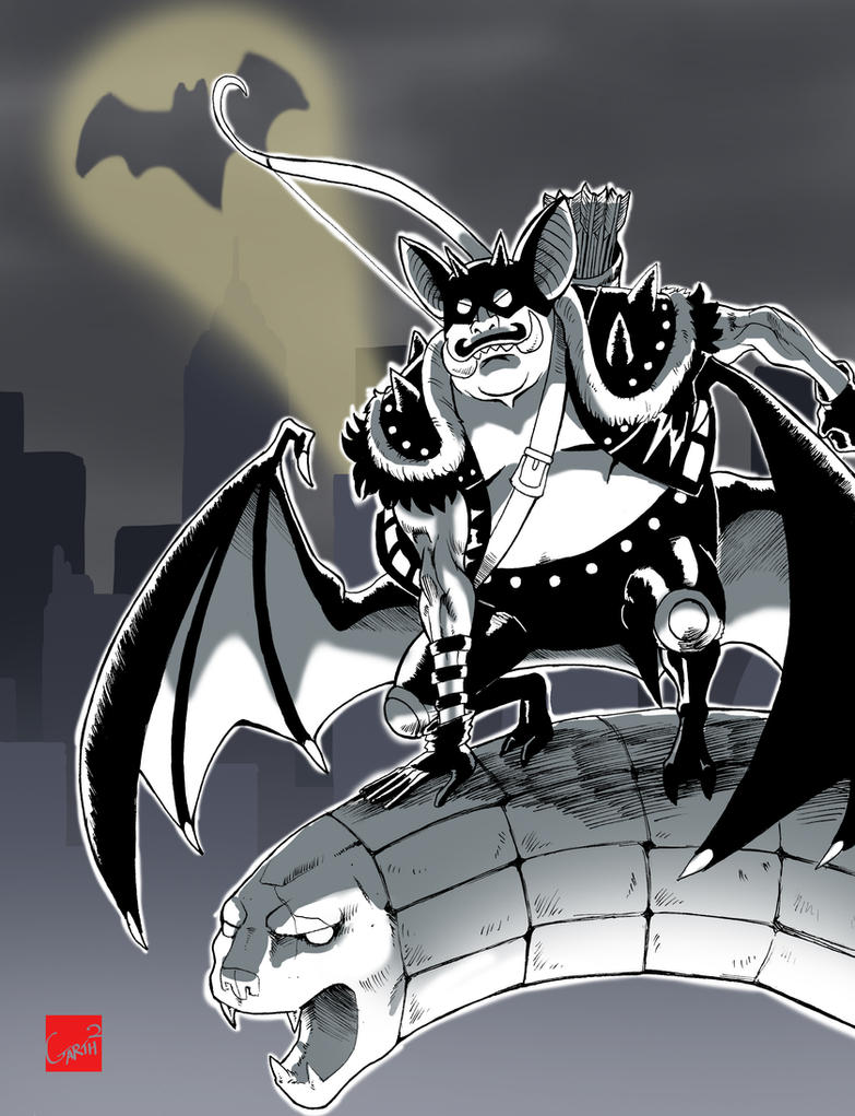GOTHAM CITY'S STREETS ARE SAFE TONIGHT! by Garth2The2ndPower