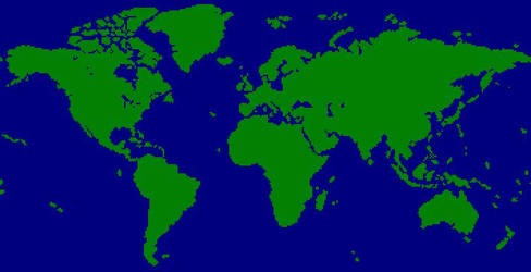 World Map Windows Xp Used