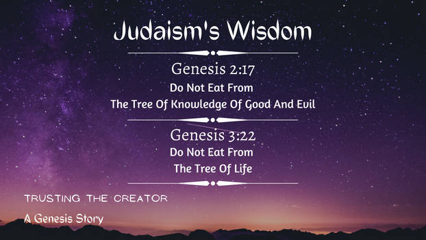 Trusting The Creator