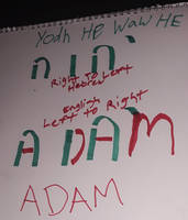 God In Hebrew To Adam In English